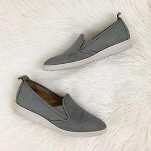 Everlane Gray Nubuck Suede Street Shoes 9.5